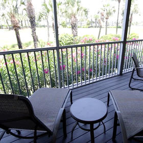 The Cottages at South Seas Island Resort Screened Balcony