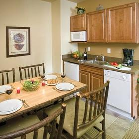 Wyndham Taos Kitchenette and Dining Area
