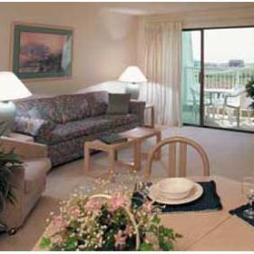 WorldMark SurfSide Inn - Unit Living Area