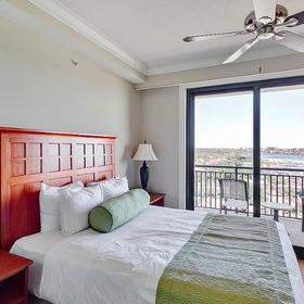 Emerald Grande at HarborWalk Village Bedroom