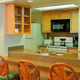 Hilton Grand Vacations Club (HGVC) Seawatch On-the-Beach Kitchen