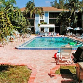 Tropical Sands Resort Pool Area