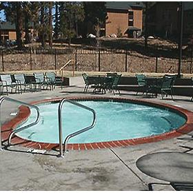 Wyndham South Shore - outdoor heated pool