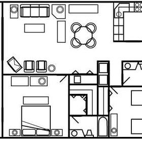 The Charter Club of Marco Beach - floor plan