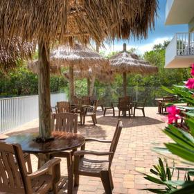 Legacy Vacation Club - Indian Shores Deck Area