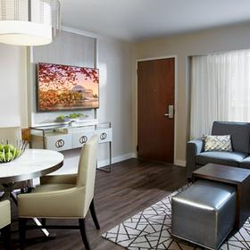 The District by Hilton Club Living Area