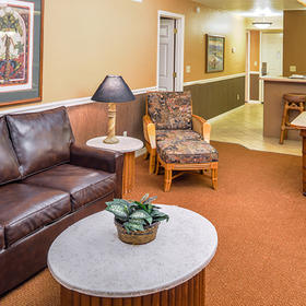 Parkway International Resort Living Area