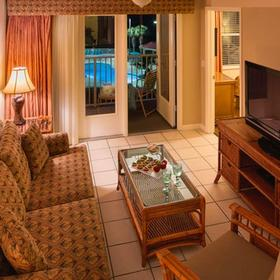 Vacation Villas at Fantasy World II Living Area