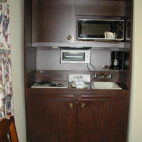Wyndham Patriots' Place - Unit Kitchenette