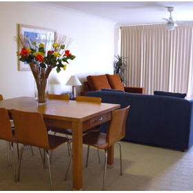 WorldMark Port Macquarie - Unit Dining Area