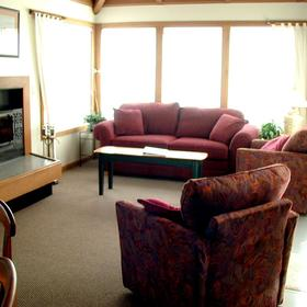 Living Room at Point Brown Resort