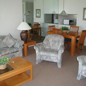 The Townhouses at St. Augustine Beach and Tennis Resort - Unit Living Area