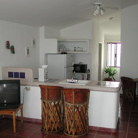 Condo Hotel Bahia - Unit Kitchen
