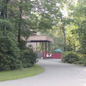 Carriage House at Pocono Manor - Back Entrance