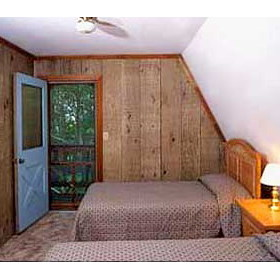Swiss Mountain Village unit bedroom