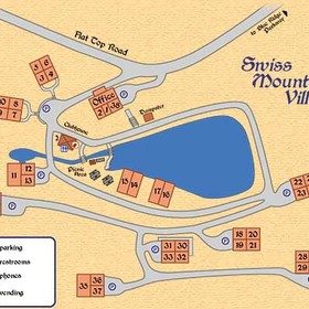 Layout of Swiss Mountain Village