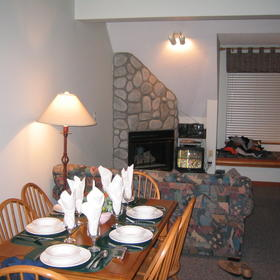 Whistler Vacation Club at Lake Placid Lodge - Unit Dining Area