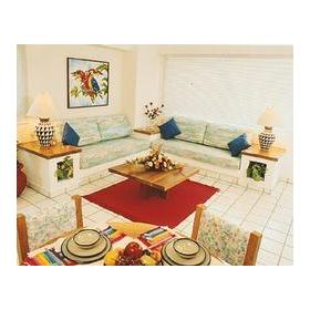 Costa de Oro Beach Club - Unit Living Area