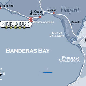 Rancho Banderas Vacation Villas' Location