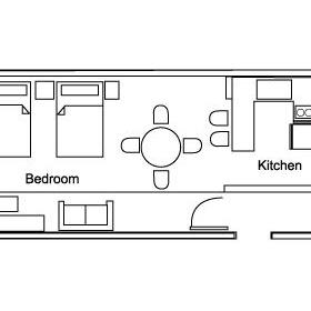 Villa del Mar - Unit Floor Plan