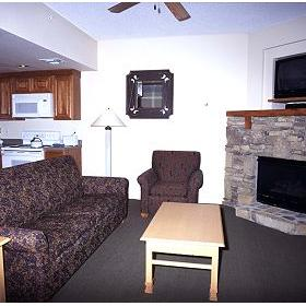 Bent Creek Golf Village - Unit Living Area