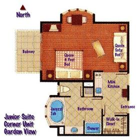 Crane Beach Resort - Unit Floor Plan