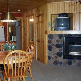 Breezy Point International - Kitchen/Living Room.