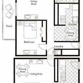 Wyndham Sea Gardens  - Unit Floor Plan