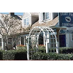 Brant Point Courtyard - To courtyard