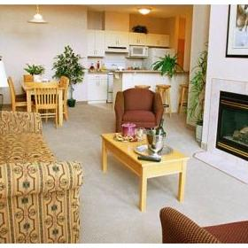 Sunset Resorts - Living Room in a unit
