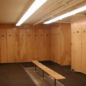 Wyndham Bentley Brook- Ski Equipment Locker Room