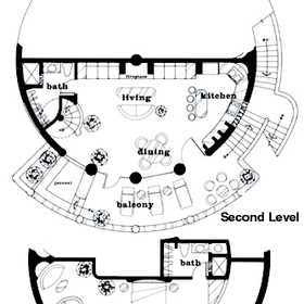 Club Cascadas de Baja - Unit Floor Plan