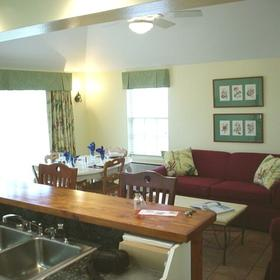 The St. George's Club - Unit Living Area
