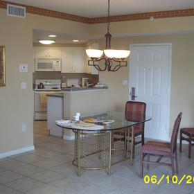 Vacation Village at Weston - Unit Kitchen and Dining Area