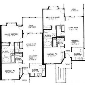 Wyndham Resort at Fairfield Glade - Unit Floor Plan