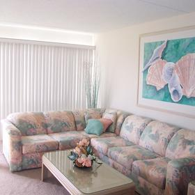 Brigantine Beach Club - Unit Living Area