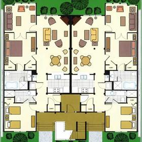 The Cottages at King's Creek Plantation - Unit Floor Plan