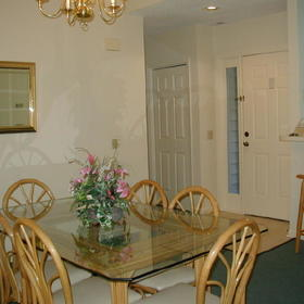 Brigantine Quarters - Unit Dining Area