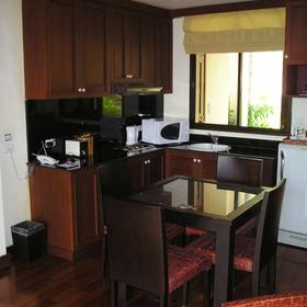 Kitchen and Dinning Area at Samui Peninsula Spa & Resort