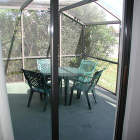 The Townhouses at St. Augustine Beach and Tennis Resort - Unit Patio