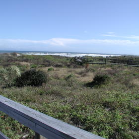 The Townhouses at St. Augustine Beach and Tennis Resort - View From Unit