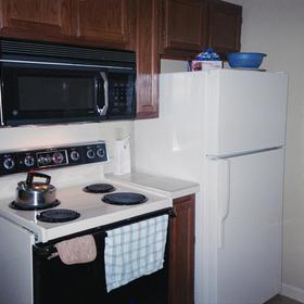 Wyndham Patriots' Place - Unit Kitchen
