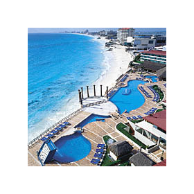Krystal International Vacation Club Cancun - pool and beach