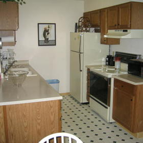 Crown Point Condominiums - Unit Kitchen