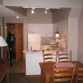 Whistler Vacation Club at Lake Placid Lodge - Unit Kitchen & Dining Area