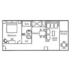 Villas del Palmar - Unit Floor Plan
