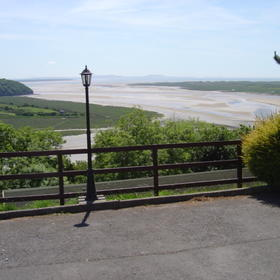View From Laugharne Park