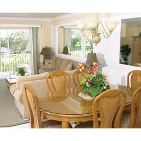 Charter Club Resort on Naples Bay - Unit Dining Area