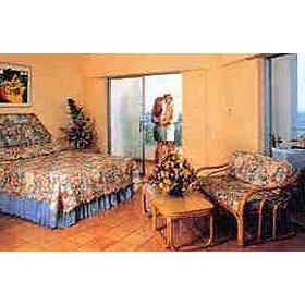 Bedroom at the Caribbean Village Decameron Club and Casino