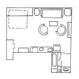 4 Seasons at Beech - Studio Floor Plan